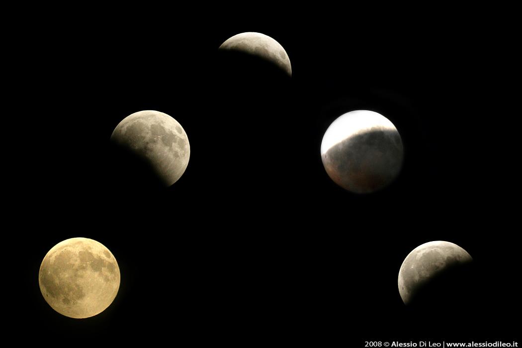 Fotografare la Luna eclissi