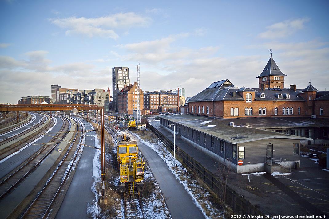 La stazione di Copenaghen