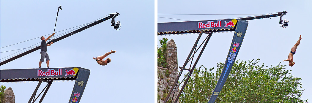 Red Bull cliff diving Malcesine
