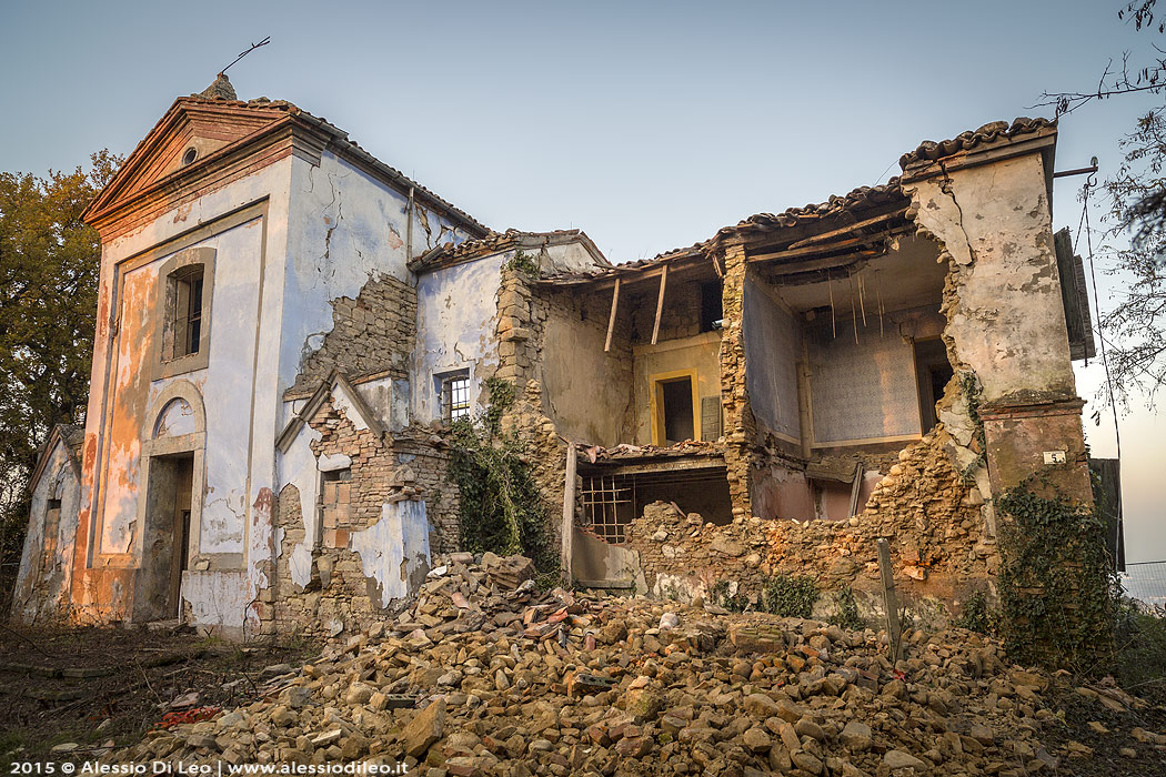 Quello che rimane della chiesa San Petrignone urbex