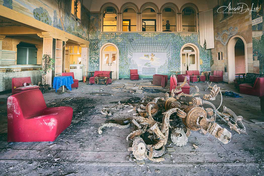 Discoteca abbandonata