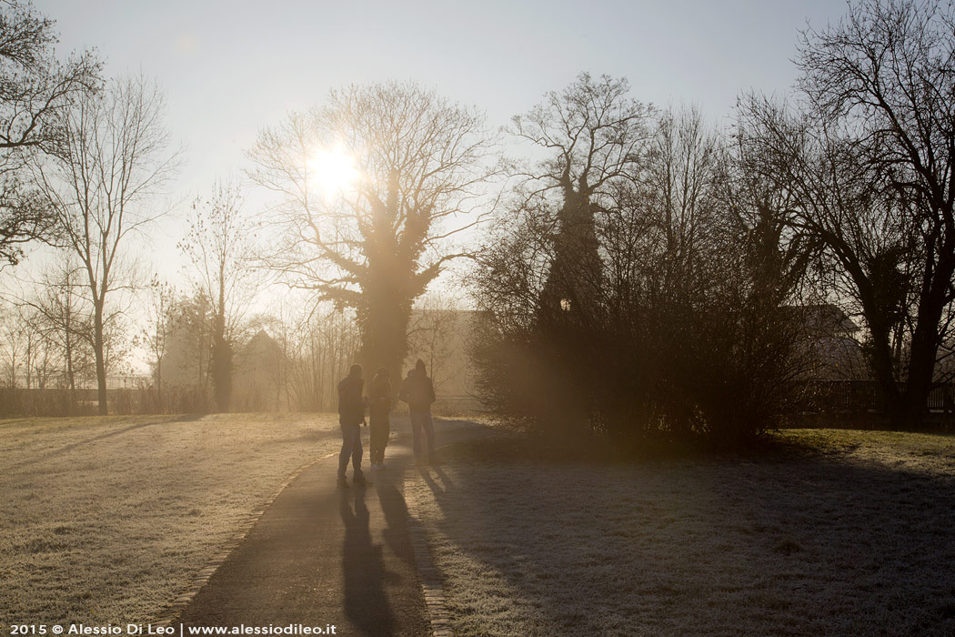 Fredda giornata invernale