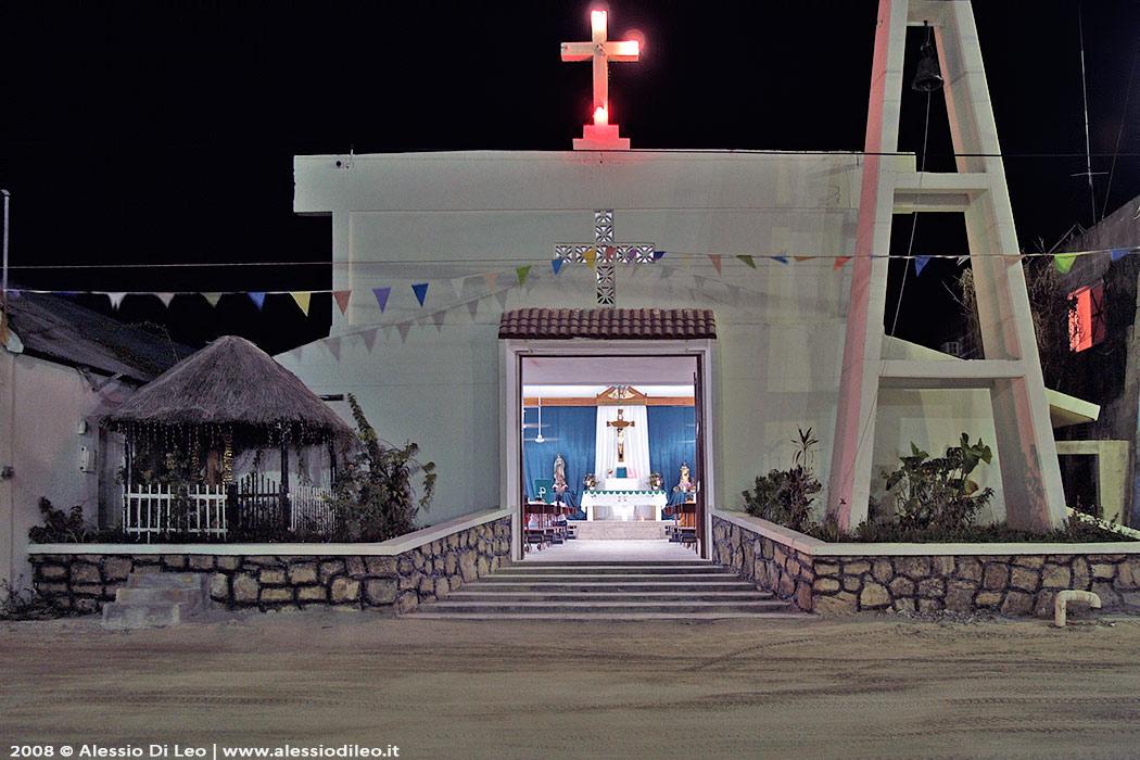 holbox chiesa