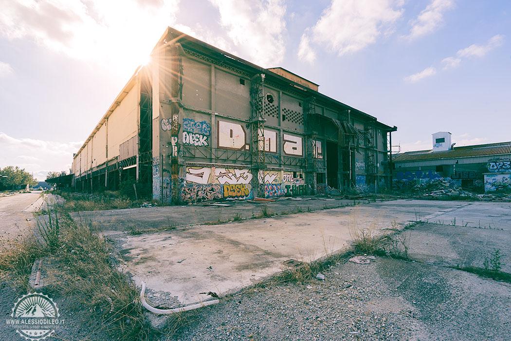 Lustucru urbex, un imponente sito industriale