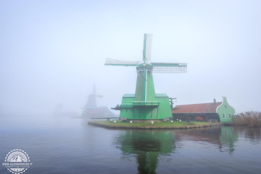 Zaanse Schans Amsterdam mulini