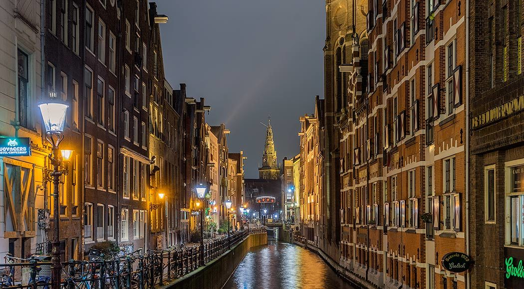 Amsterdam night photography