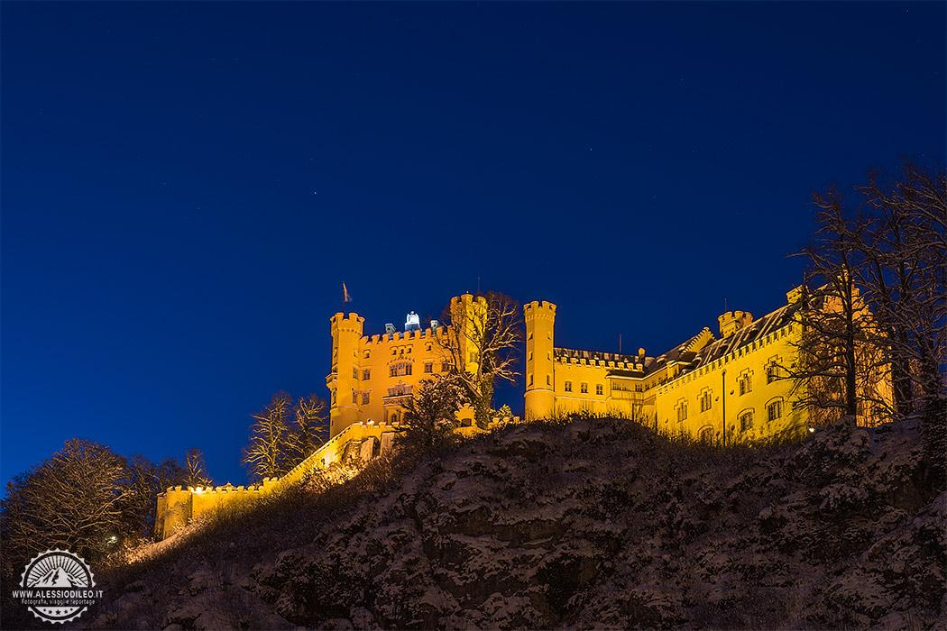 Neuschwanstein castello baviera