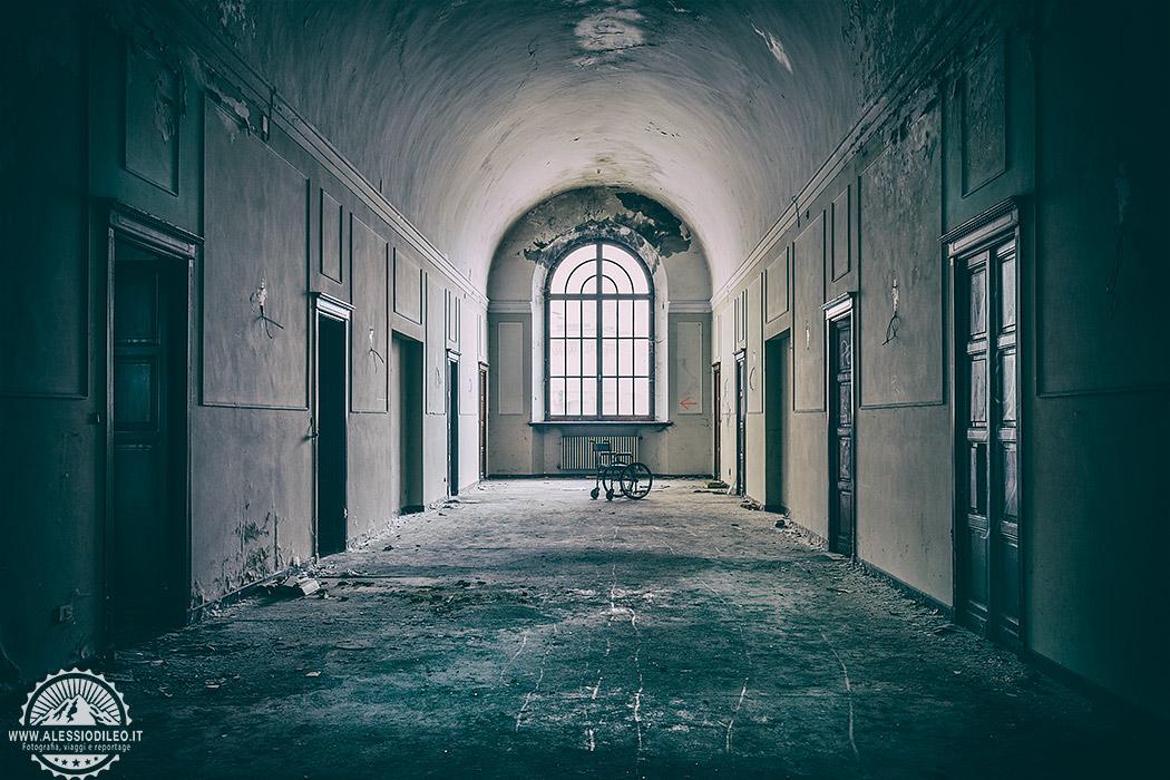 Manicomio abbandonato di Colorno - case della follia