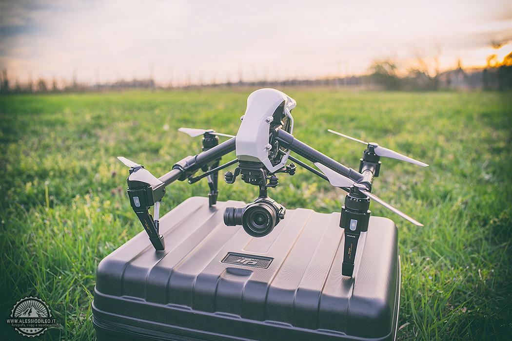 Fotografia aerea con i droni, il mondo visto dall'alto