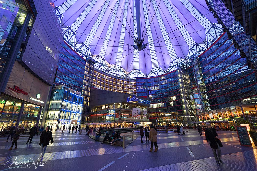 Berlino sony center