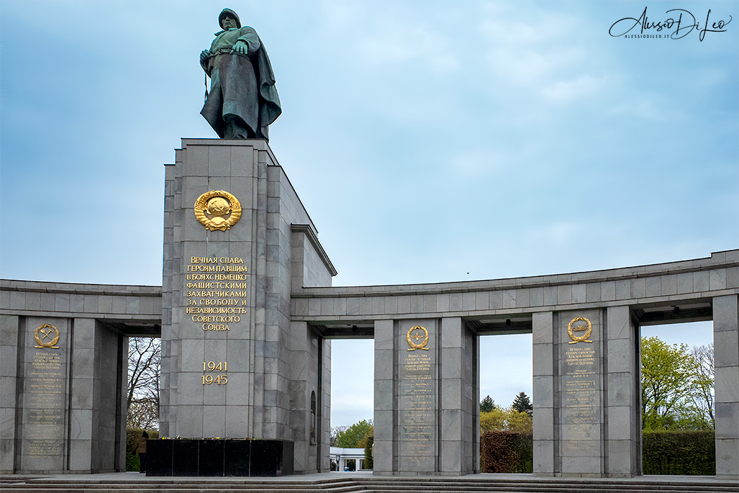 Memoriale sovietico Tiergarten