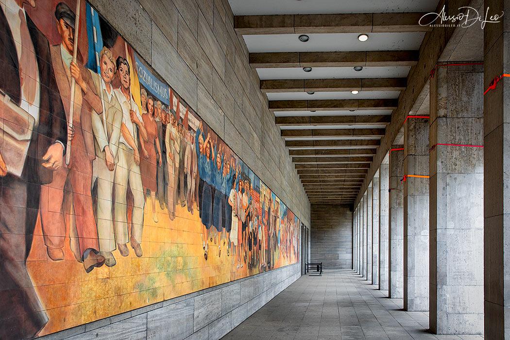 Murale ministero finanze berlino