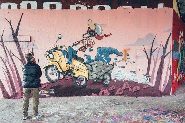 Street art nella Hall of Fame di Stoccarda