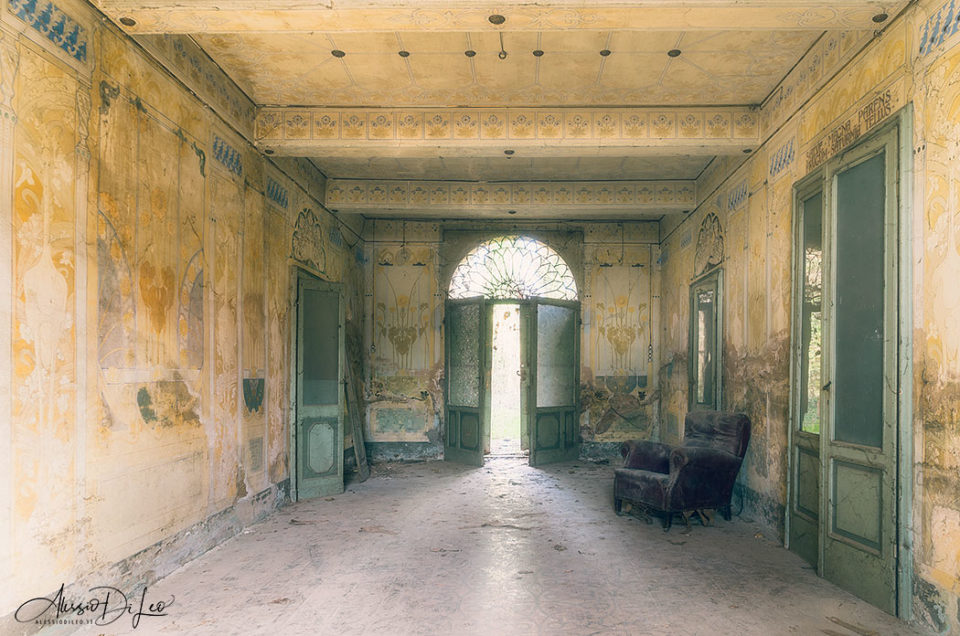 Villa Cattini nasconde un incredibile segreto