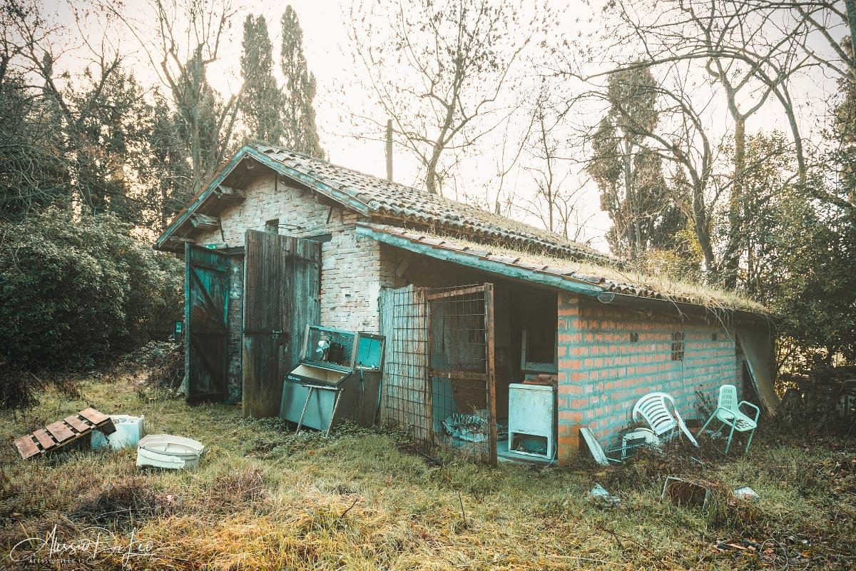 Villa abbandonata esplorazione urbana