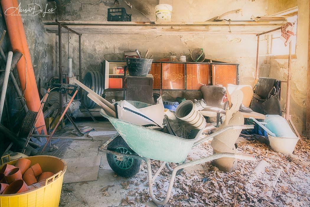 Villa cavaliere abbandonata