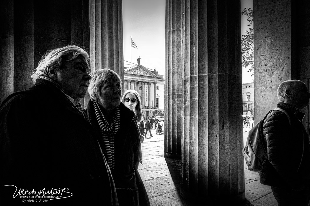 Street photography bianco e nero