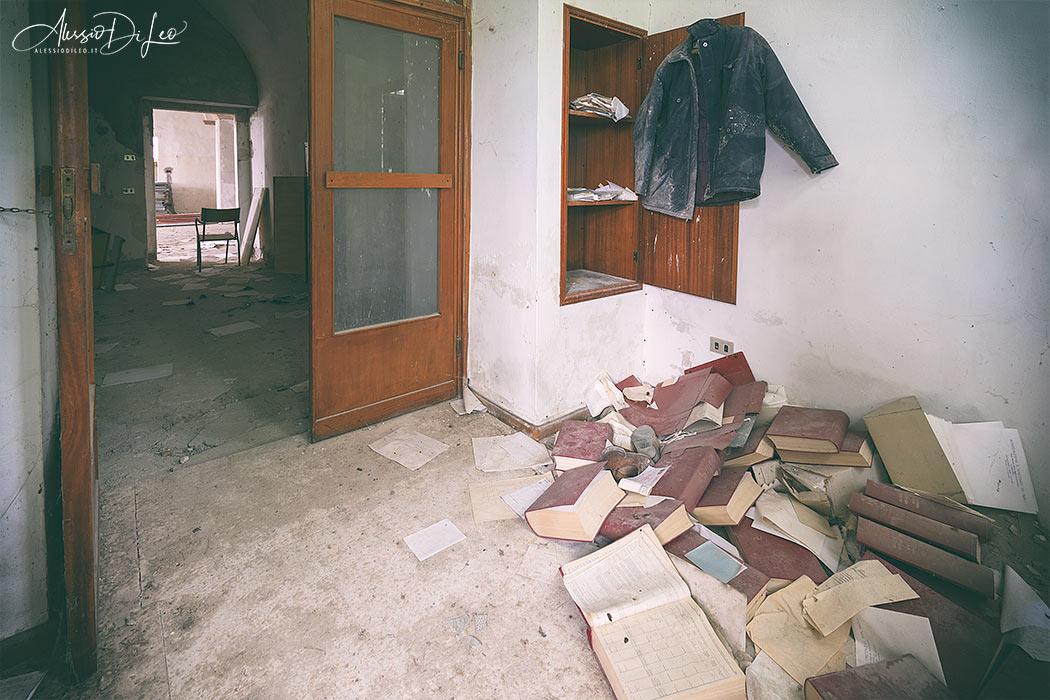 Villa abbandonata umbria