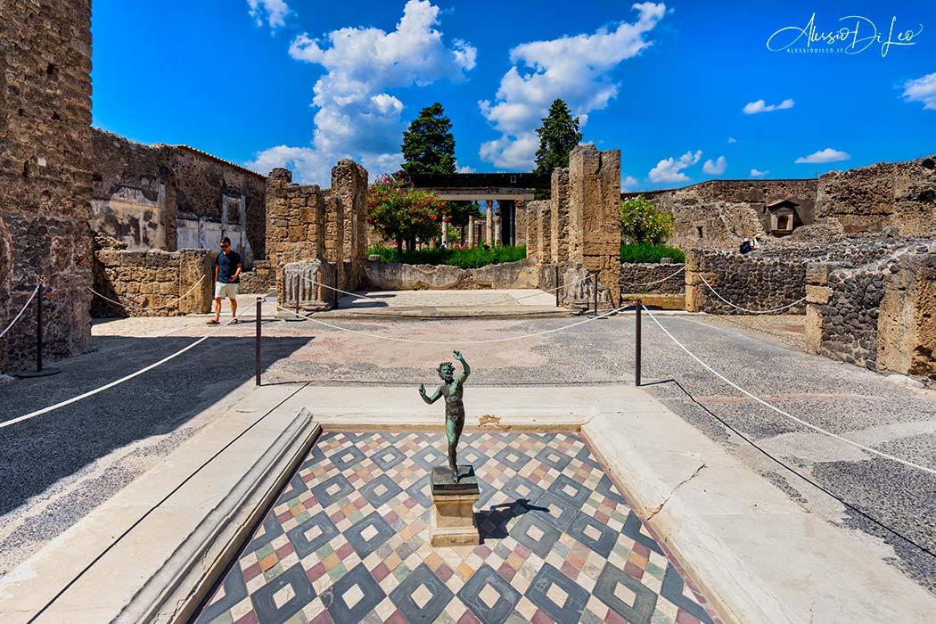 Casa del fauno pompei