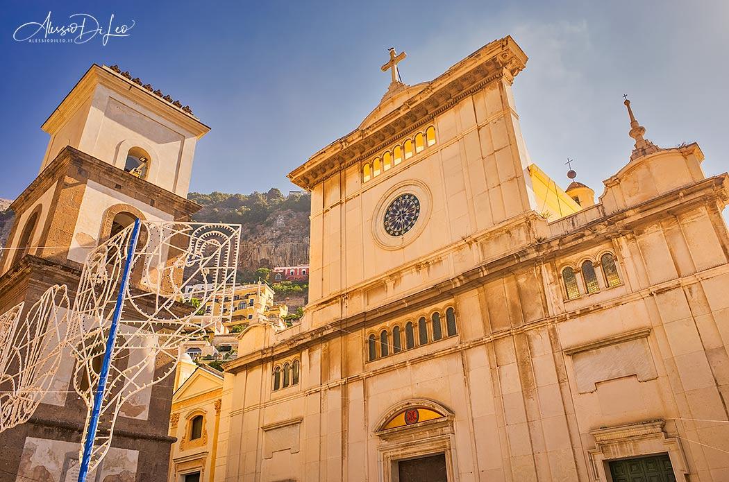 Positano Chiesa Santa Maria Assunta