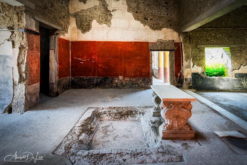 Casa principe napoli pompei