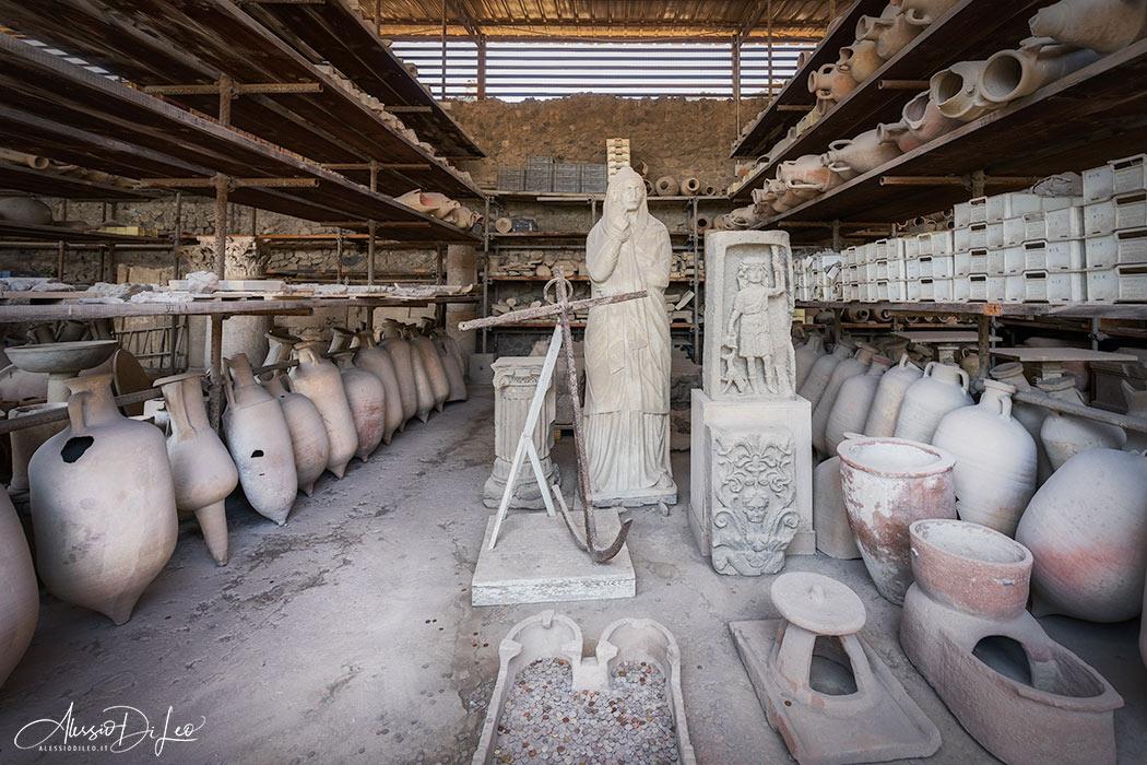 Granai del foro Pompei