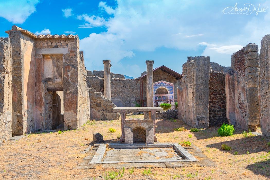 Pompei domus