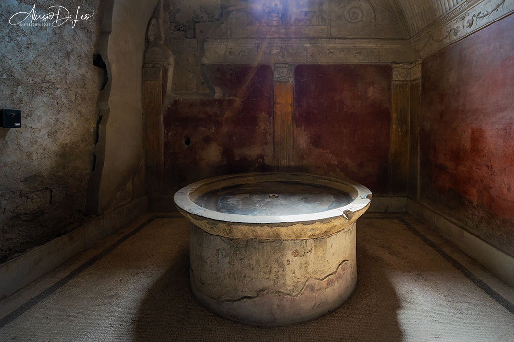 Pompei terme