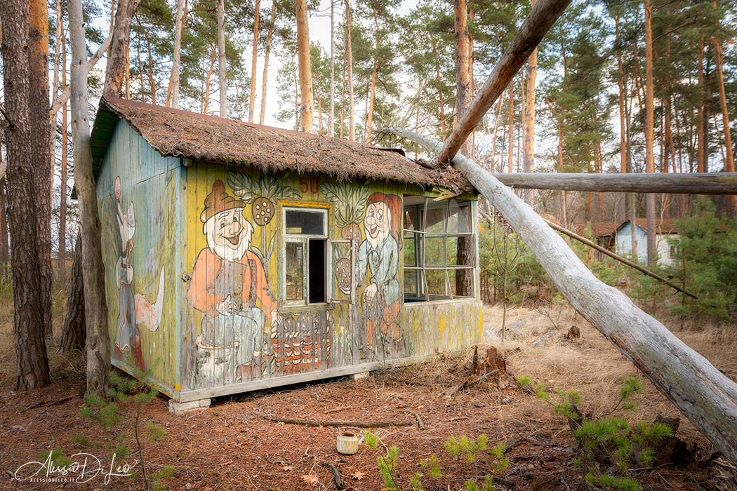 Camp emerald Chernobyl
