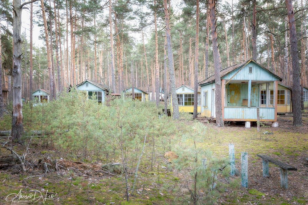 Campeggio estivo Chernobyl