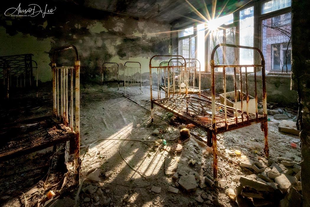 Chernobyl asilo