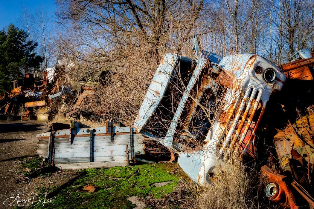 Discarica mezzi radioattivi Chernobyl