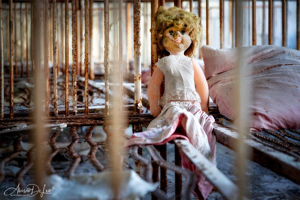 Pripyat abandoned place
