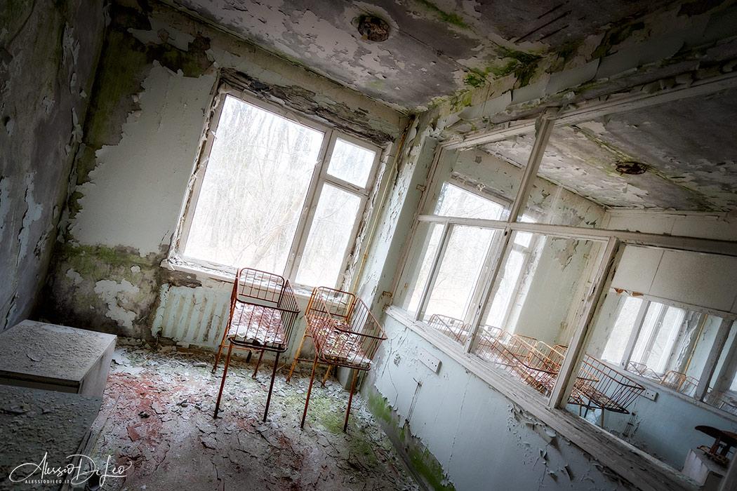 Pripyat reparto maternita