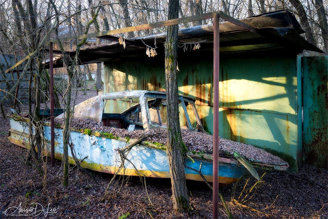 Pripyat yachting club
