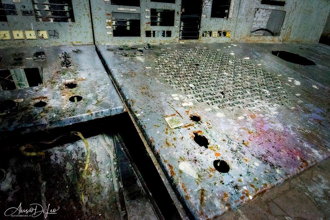 Pulsante scram chernobyl