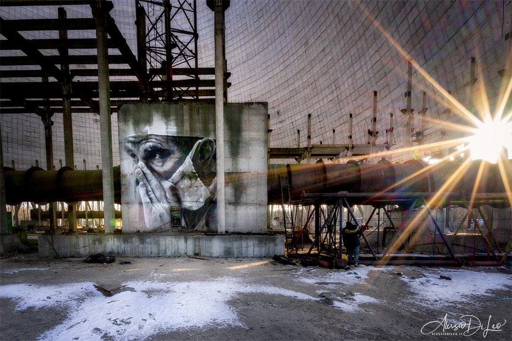 Torre raffreddamento cinque Chernobyl