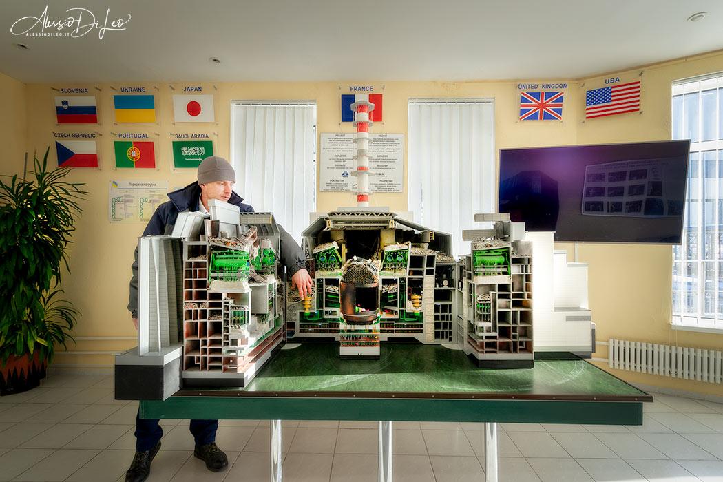 Tour guidato centrale Chernobyl