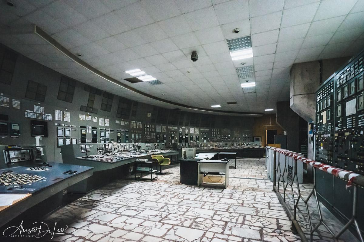 Chernobyl sala controllo