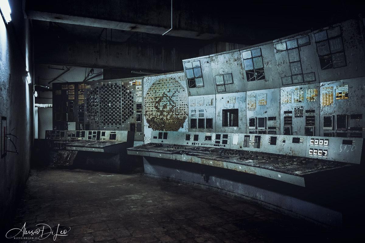 Disastro di chernobyl sala controllo 4