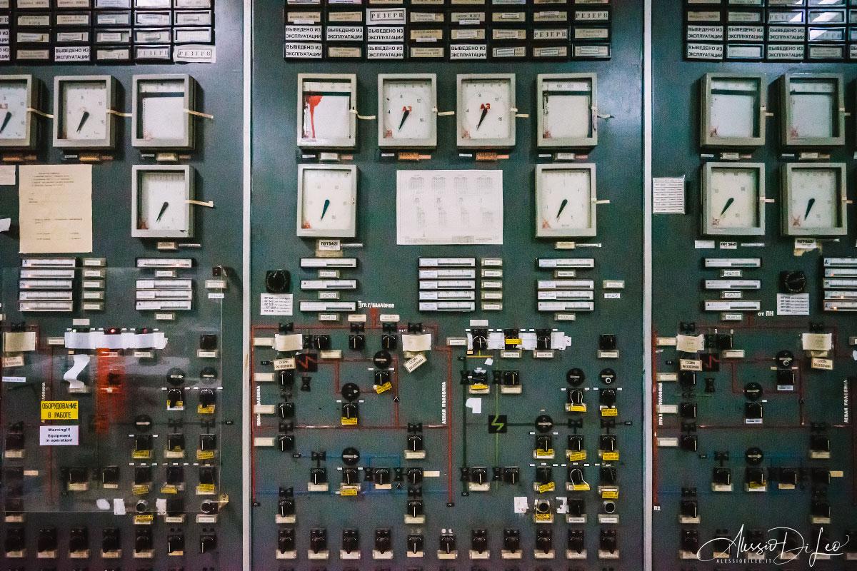 Sala controllo tre chernobyl