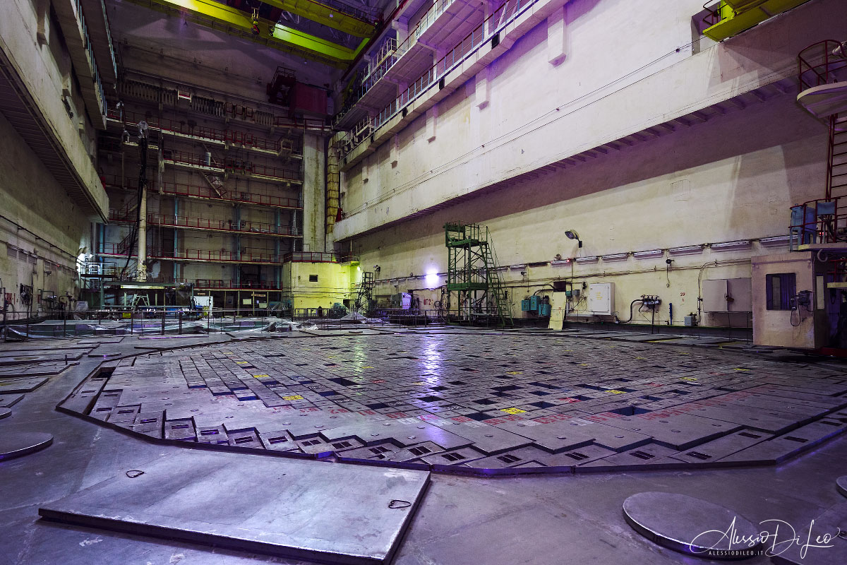 Scudo biologico reattore rbmk