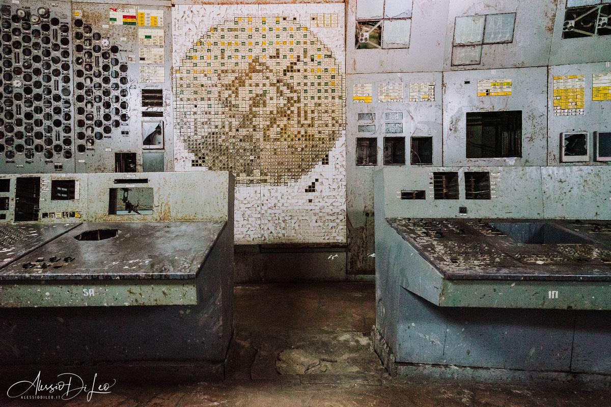 sala controllo reattore 4 chernobyl